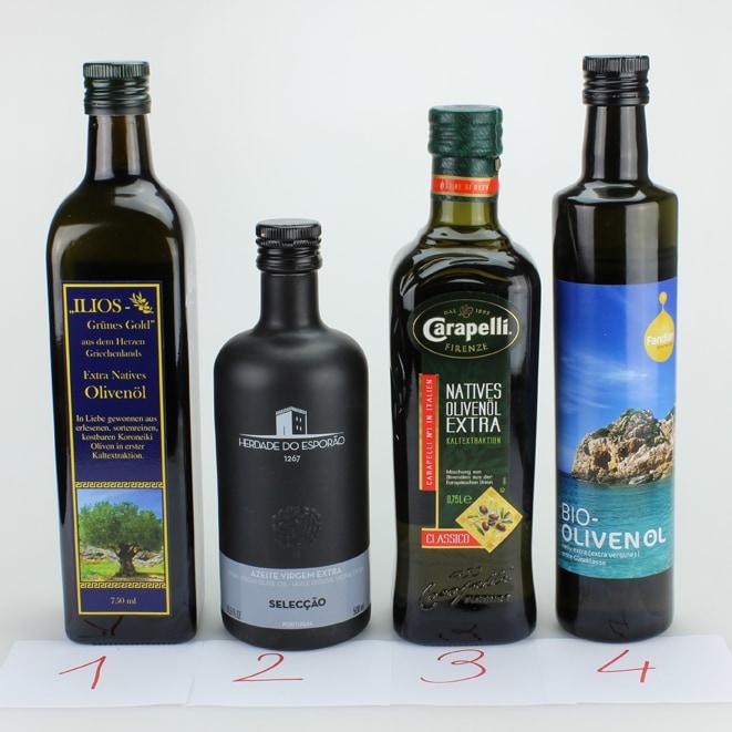 Olivenöl Ringverkostung